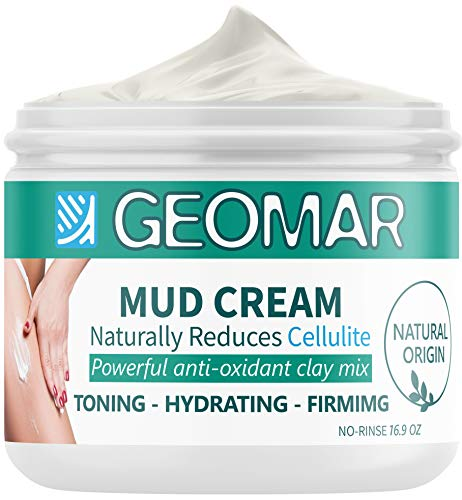 Anti Cellulite Cream - Fast Cellulite Treatment for Legs, Tummy and Butt - Natural Skin tightening cream with Caffeine, Clay Based Antioxidant and Firming Cream (16.9oz)