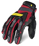 Ironclad Command Impact 360 Cut A5 Work Gloves; Touch Screen Gloves Conductive Palm