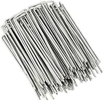 Landscape Staples Save money and Fence Garden Stakes - Inch Pack U-Sha 50 Max 40% OFF 6
