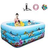 GCHH Piscina Inflable Familiar Swim Center, Piscina Inflable Suave De Dibujos Animados para Niños, Piscina De Bolas Gruesas Resistente Al Desgaste, para Hogares De Verano(175×125×50cm) 175×125×50cm
