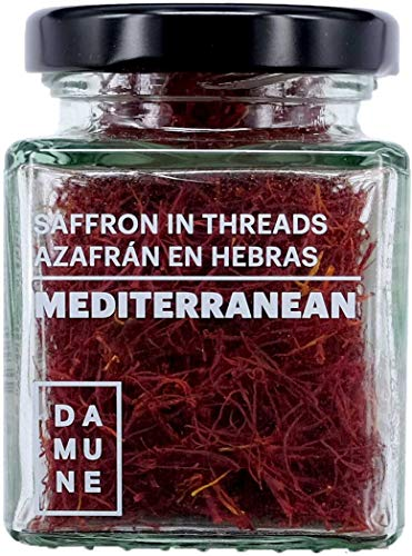 DAMUNE Azafrán en hebras Mediterranean - Categoria I Superior - 8 g
