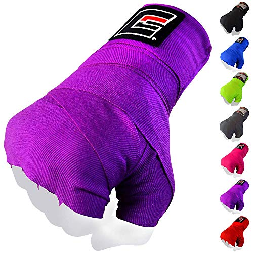 Combat Corner Mexican Pro Boxing Hand Wraps 180 Inches for Men and Women - Fist Protection and Wrist Support Handwraps | Great for Muay Thai, Boxing, MMA, Kickboxing and Martial Arts Training