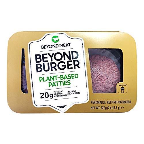 Beyond Meat Burger | Hamburguesa 100% Vegetal | Plant Based | Sin Gluten | Sin Soja | Vegano | 2 porciones (227g)