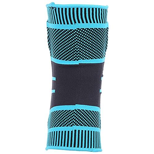 Voluxe Circa Knee Compression Sleeve, Rodillera de Nailon con Alto Rendimiento para desgarro de menisco para Hacer Ejercicio(L)