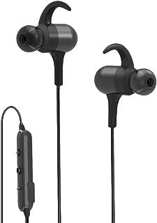 UKCOCO Trådlösa hörlurar sport hörlurar löpning mikrofon halsband hängande hals HD ljudkvalitet hörlurar