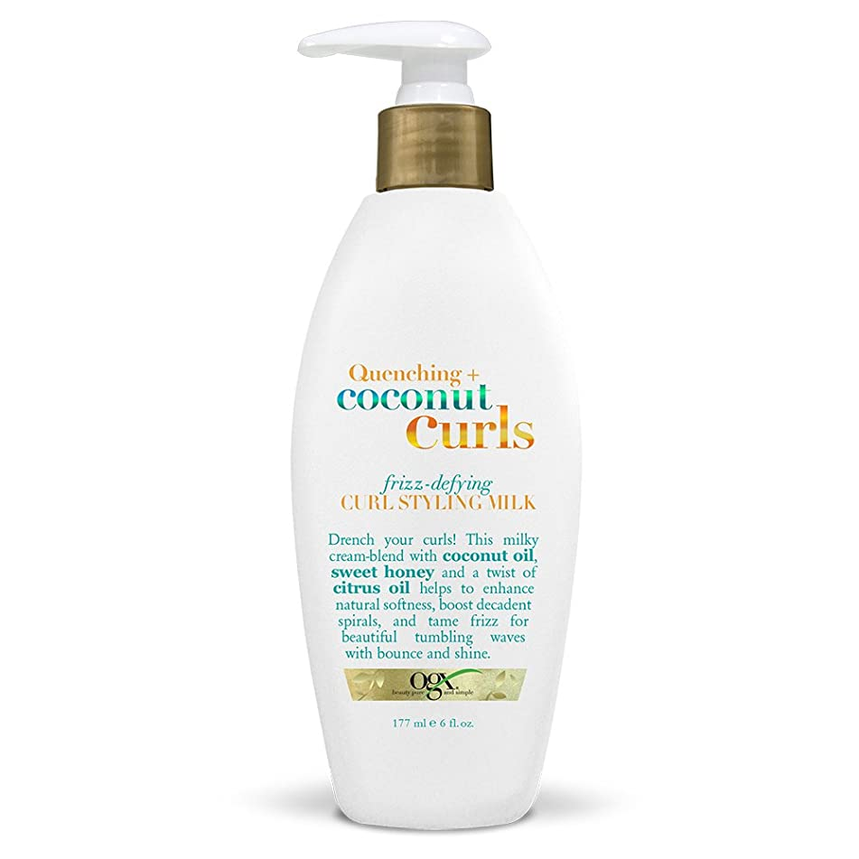 OGX Quenching Plus Coconut Curls Styling Products, 6 Count