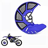 Front Brake Disc Guard Case Cover Protector - Yamaha YZ250F YZ450F YZ250FX YZ450FX - Blue