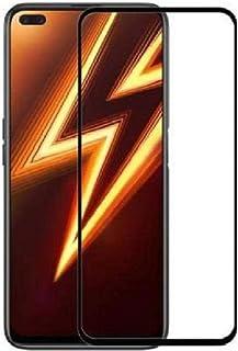 شاشة حماية خماسية الابعاد لموبايل ريلمي 6 برو - سوداء
