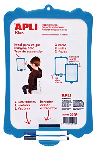 Pizarras Blancas de Rotulador Pequeñas Marca APLI Kids