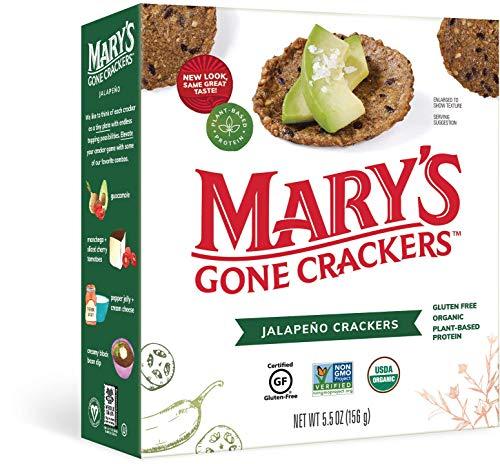 Organic Jalapeno Crackers