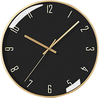 Amazon.com: MAlex Clock Simple Modern Art Deco Wall Clock ...