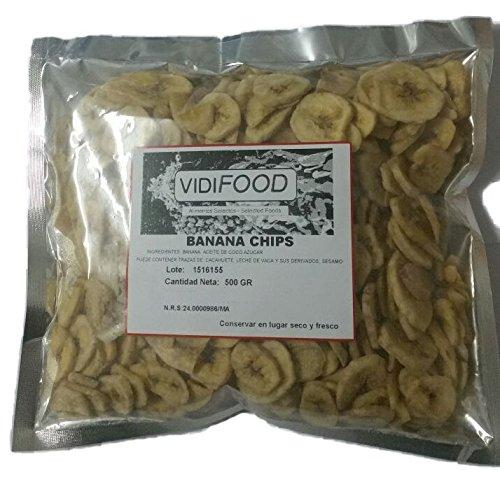 Banana Chips Deshidratados - 500g