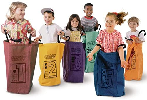 diseños exclusivos Learning Carpets Jumping Jumping Jumping Bags - Set Of 6 by Learning Carpets  protección post-venta