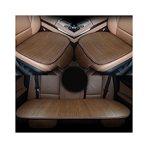 ZEIYUQI Cuscino per Auto Cuscino per Sedile Estivo Singolo Cuscino in Rattan Cuscino per Sedia da Ufficio Cuscino per Sedia da Pranzo,B