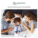 RAVENSBERGER STRUKTURA-MED® 60 | 7-Zonen-HR-Premium-Kaltschaummatratze | H3 RG 60 (80-120 kg) | Made IN Germany – 10 Jahre Garantie | Baumwoll-Doppeltuch-Bezug | 90 x 200 cm - 8