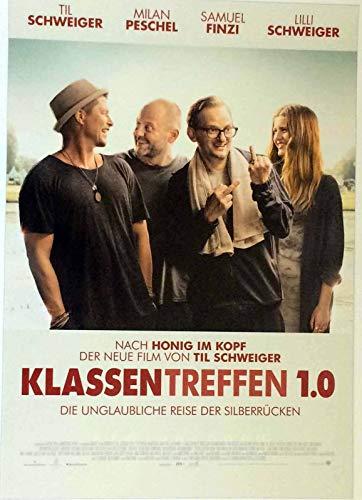 Klassentreffen 1.0 - Til Schweiger - Milan Peschel - Filmposter 37x53cm gerollt