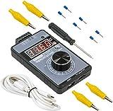 Generatore di Segnale di Tensione Corrente 10V 0-20mA Aggiornato Batteria Ricaricabile Incorporata per Debug PLC Regolazione Velocità Servomotori Dimmer Luce