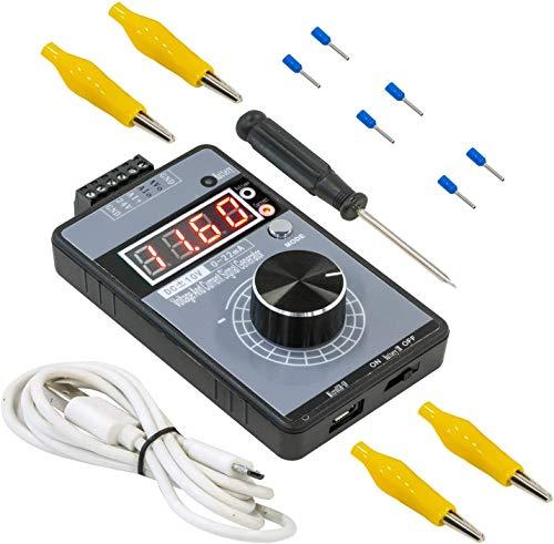 Generador de señal de tensión corriente 10 V 0 – 20 mA actualizado batería recargable incorporada para Debug PLC ajuste velocidad servomotores regulador luz