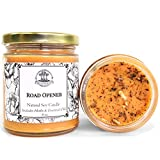 Road Opener 8 oz Soy Spell Candle for New Opportunities, Beginnings & Removing Obstacles Wiccan Pagan Hoodoo Magick