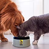 Road Refresher Prestige Pets, The No-Spill Slobber Stopper Water Bowl for Dogs, Slow Feeder Water Dispenser Bowl for Home and Travel, No More Messy Splashes, Spills or Drips Ideal for All Breeds