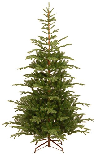 National Tree Company 'Feel Real' Artificial Christmas Tree | Includes Stand | Norwegian Spruce Tree - 7.5 ft
