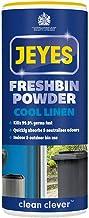 Jeyes Freshbin Powder, Bin Freshener for Indoor & Outdoor Bins, Lemon Fresh, 550g blue