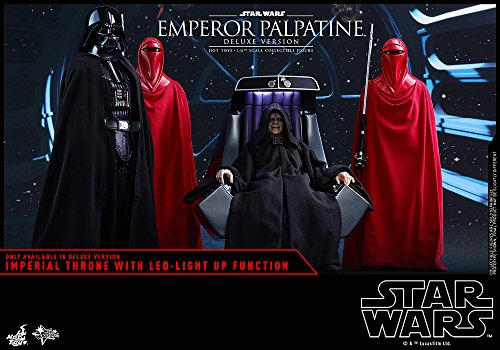 Hot Toys Emperor Palpatine (Deluxe Version) (MMS468) Star Wars - Episode VI: Return of The Jedi (1/6) Scale Movie Masterpiece