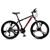 XNEQ 26 Pulgadas Bicicleta De Montaña, Bicicleta De Absorción De Choque De Aceite del Freno De Disco, Los Hombres Y De Las Mujeres Bicicletas De Cambio De Velocidad 21/24/27/30,6,24 Speed