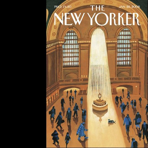 The New Yorker (January 28, 2008) cover art