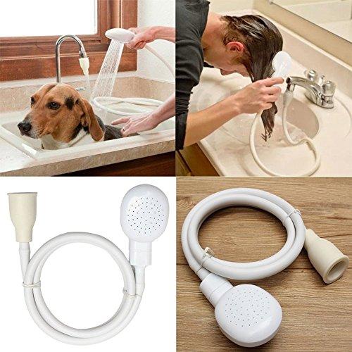 Woopower Handbrause, multifunktional, Haustier, Hund, Katze, mit Schlauch, an Waschbecken