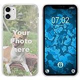 PhoneNatic Hülle kompatibel mit iPhone 11 Personalisierte Handyhülle Clear zum selbst gestalten mit eigenem Foto