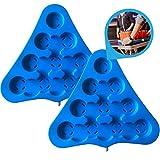 Bierpong Rack 2er Set mit Kühlfunktion aus stabilen Kunststoff. Einfach Wasser einfüllen, einfrieren und mit gekühlten Getränk Bierpong