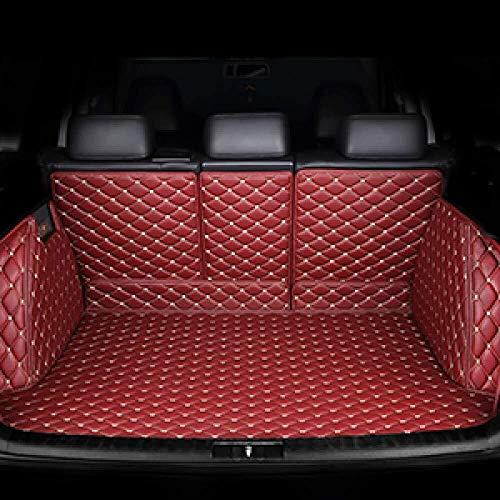 For Mercedes Benz todos los modelos personalizados clase accesorios del coche estera maletero del coche C ML GLA GLE GL CLA R A B GLS GLC styling clmaths (Color : Wine red)