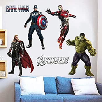 Best avengers wall decals Reviews