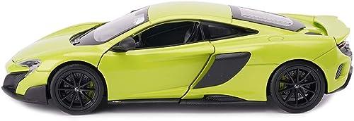 YaPin Model Car 1 24 McLaren 675LT Modelo de Coche Ornamentos Original Regaño de Cumpleaños Simulación de Aleación Modelo de Coche Corriente 19x8.5x4.5 CM Modelo de Coche