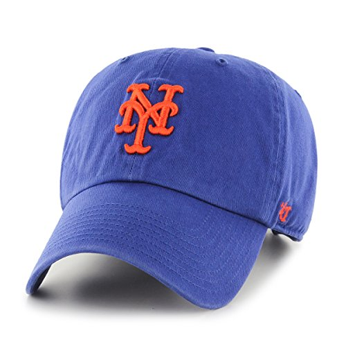 '47 Unisex Clean Up Baseball Cap, Violett (Royal - Mets Royal - Mets), One Size