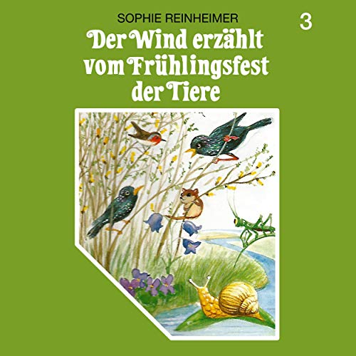 Der Wind erzählt vom Frühlingsfest der Tiere Titelbild