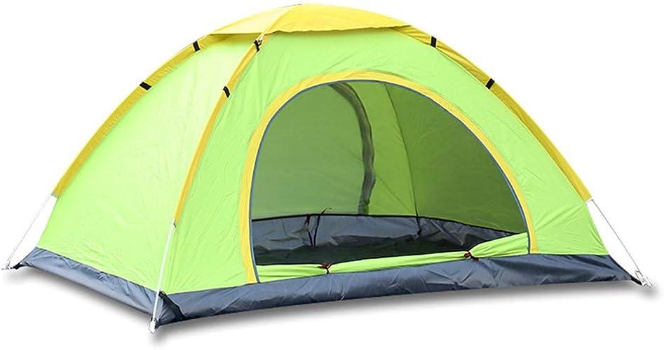 XBTECH 2-4 Tente De Camping pour Homme, Grande Tente De Festival Multi-Personnes Améliorée, Résistant à l'eau, Ventilée Et Durable - pour La Randonnée