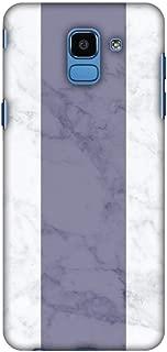 AMZER Slim Fit Handcrafted Designer Printed Snap On Hard Shell Case Back Cover Skin for Samsung Galaxy J6 (2018) - Thailand Flag- Marbles HD Color, Ultra Light Back Case