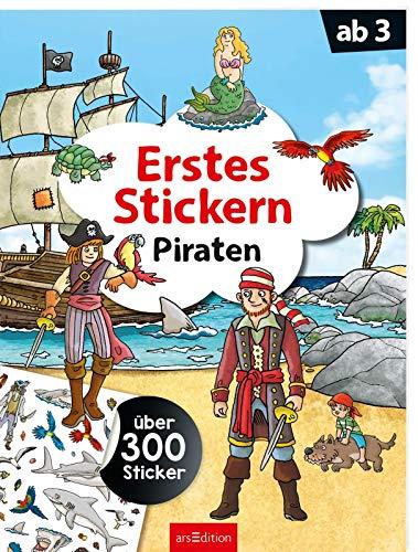 Erstes Stickern Piraten: Über 300 Sticker