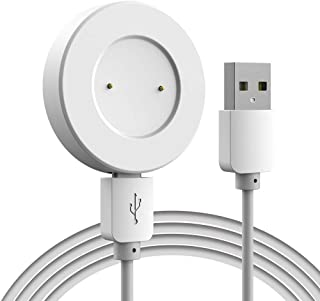 Charger for Huawei Watch GT/Honor Watch Magic Charger Station Portable Lightweight with USB Charging Cable (White)