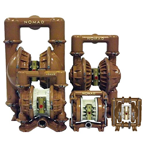 """Nomad 25-25964 1"""" Trans-FLO Gold AODD Pump, Aluminum with Hytrel Diaphragms & FBSP Ports"""