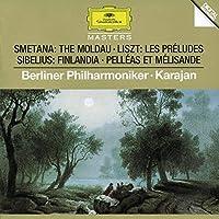 Smetana: The Moldau/ Liszt: Les Preludes/ Sibelius: Finlandia and Pelleas et Melisande by Herbert Von Karajan (1995-10-17)