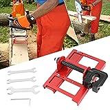 TTLIFE Accesorio de motosierra corte guiado madera molinillo, guía vertical de corte de madera, para motosierras a moler tablones y vigas