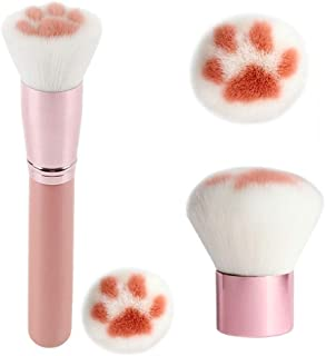 (Cute Cat a) - LETGO Black Deals Friday Cyber Sale Monday Deals Makeup Brush Cute Cat Claw Paw Hair Multifunction Foundati...