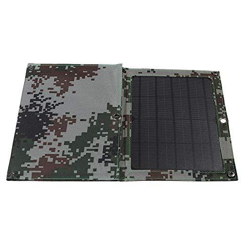 Panel solar 40W 5V USB de doble Sunpower solar plegable Panel de Emergencia de carga Kits de cargador de batería para caravanas, autocaravanas, autocaravanas, barc ( Color : Black , Size : 10W )