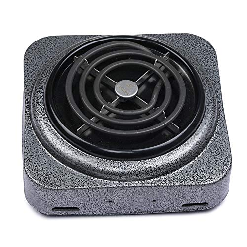 TASHAN 1000 Watts Electric ISI Mark G-Coil Cooking Stove/Heater/Hot Plate Cooking Stove/Induction Cooktop (Powder Coting)