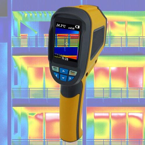 Wärmebildkamera Infrarotkamera Thermografie Gebäude Sanierung Schimmel Taupunkt Pyrometer Energiepass IR4