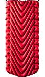 Klymit Static V Luxe Sleeping Pad, Extra Wide (up to 30 inches), Maximum Comfort for Car Camping, Travel, and...