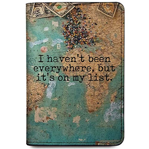 RFID Passport Holder Travel Wallet - I Haven't Been Everywhere (Not Customized)